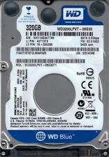 "BRand New WD3200LPVT DCM: HHOTJHK WX11A Western Digital 320GB 2.5"" Internal"