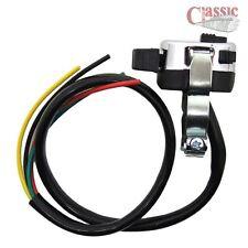 Indicador Interruptor (3 vías) con motor de cuerno/KILL/Faro botón flash