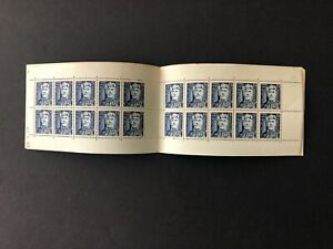 French Colonies Tunisia Tunis Scott 264 mnh stamp booklet of 20 - ESSO ad