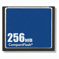 10x 256MB Compact Flash Standard CF Carte Mémoire OEM Camera Avec/étuis Complet