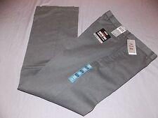 mens dockers signature khaki pants 32x34 nwt $58 gray stripe