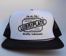 LUBRIPLATE SUPER-LUBRICATION Adjustable Snapback Trucker Style Baseball Cap Hat