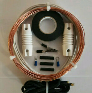 Shortwave Radio Antenna  *The Worldwide*  50' Bare Copper Longwire for SWL
