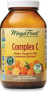 MegaFood Complex C - Helps Support Immune System - Antioxidant - 180 Count