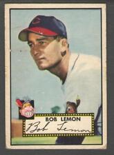 1952 Topps #268 Bob Lemon