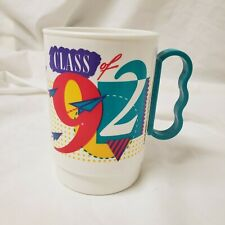 Vintage Class Of '92 Plastic Cup With Handle