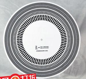 Disc Acrylic Turntable Mat Alignment Protractor Strobe Disc LP Vinyl