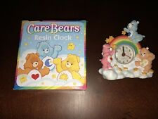Care Bears Resin Clock New Cheer Bear, Friendship Bear, Grumpy Bear Free Ship