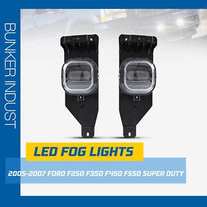 BUNKER INDUST 2PCS Ford LED Fog Lights F250-550 SUPER DUTY