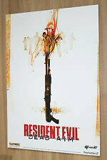 Resident Evil Dead Aim Game Store Display Standee Capcom Playstation 2 59x42cm
