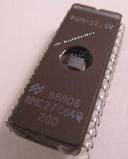 4 Stück - NMC27C64Q200  - NSC  - EPROM  64K 200ns (AE14/6547)