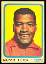 1963 TOPPS CFL FOOTBALL #42 MARVIN LUSTER NM MONTREAL ALOUETTES U.C.L.A CARD