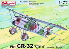 """AZ Models 1/72 Kit 7613 Fiat CR-32bis Chirri """"Hungarian Service"""" x 3"""