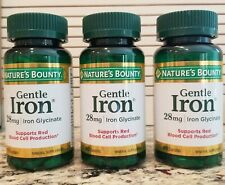 3 x Nature's Bounty Iron 28 mg Supports Red Blood Cell Production