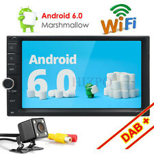 "Double 2Din7""inch Quad Core Touch screen Android 6.0 Car Radio Stereo GPS+camera"