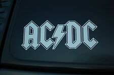 ACDC Vinyl Sticker Decal (V270) AC DC Led Zeppelin Rock Metal Choose Color&Size!