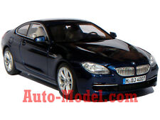 1:43 BMW 2011 6 Series Coupe 650i Deep Sea Blue Metallic Dealer Edition
