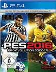 PES Pro Evolution Soccer 2016 Day One Edition (Sony PlayStation 4, 2015) NEU PS4