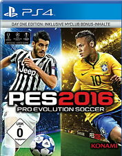 Pro Evolution Soccer 2016 -- Day One Edition (Sony PlayStation 4, 2015)