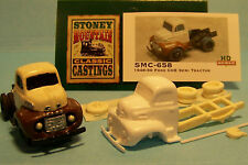 SMC-658 1948-50 Ford COE Semi Tractor HO-1/87th Scale White Resin Kit unfinished