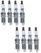 Set Of 8 Spark Plugs AcDelco For Workhorse Saab Pontiac Isuzu Hummer GMC V8