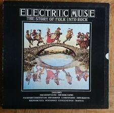 Electric Muse The Story Of Folk Into Rock Island/Transatlantic FOLK 1 4 Lp Vinyl