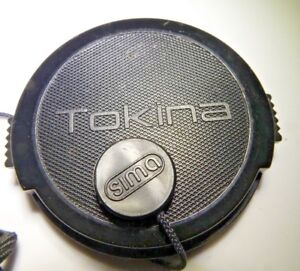 Tokina 55mm RMC II Lens Front Cap with keeper string