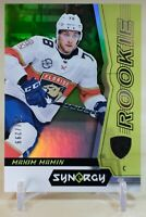 2018-19 Upper Deck Synergy Rookies Green Maxim Mamin #62 Florida Panthers RC
