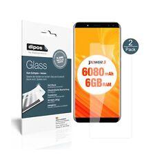 2x Ulefone Power 3 Protector de Pantalla Vidrio Flexible Cristal Proteccion 9H