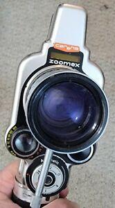 CARENA ZOOMEX 8mm CAMERA w/ANGENIEUX 7.5-35mm ZOOM LENS movie