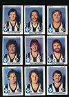 1981 Scanlens Collingwood Magpies Team Set 14 cards MINT