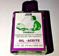JOB OIL - Employment Hoodoo Voodoo Wicca Spell Brand New Glass 1/2 oz.
