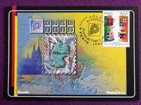"""2003 Cartolina Filatelica """"KOLN 2003"""" Annullo KOLN"""