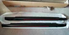 Genuine Peugeot 108 & Citroen C1 MK2 S Line Gloss Black Sill Skirts