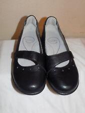 Sanita Black  Leather Mary Jane  Clogs Mules Shoes Shoe Size 36 (US 5.5- 6  )