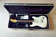 Fender Stratocaster Classic 60's MIJ Japan OLympiuc White with new ABS Hard Case