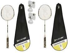 2 x Browning Nanotec CTi 90 Badminton Rackets + 6 Carlton Shuttles RRP £450