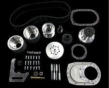 DPI SBC Blower Drive Kit ( Fits 6-71 & 8-71 ) - Brushed bracket, 8M 53 & 8M 55