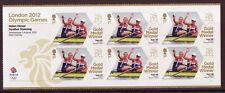Gran Bretaña Londres 2012 Remo Para Mujer Pares Miniatura Hoja, um, mnh Olimpiadas
