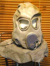 NVA Kopfhaube zur Gasmaske M10M grau neuwertig