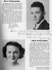 1937 Spokane WA Lewis and Clark High School Yearbook~Photos~History~Sports~++++