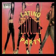 LATINO PARTY - TEQUILA - FRANCE MAXI SINGLE POLYDOR 1990 - MAXISINGLE 12""