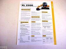 Gradall Xl 2200 Brochure