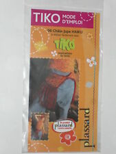 fiche technique, châle-jupe haiku laine feutrée à réaliser avec planche à nouer