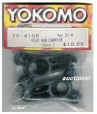 YOKOMO ZE-415R GT-4 GT4 REAR HUB CARRIER 2pcs TOURING