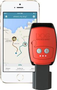 Dog Tracker Nano GPS Tracker Waterproof Rechargeable