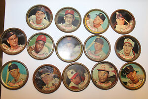 Lot of 14 Different Topps Baseball Coins 1964? LOOK JSH
