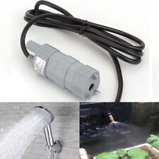 Useful Mini 12V DC 1.2A Micro Submersible Water Pump High Lift 14L/M For Garden