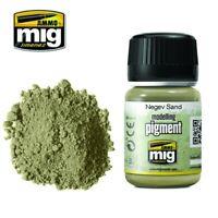 Ammo of Mig Jimenez Negev Sand Modelling Pigment 35 ml #3024