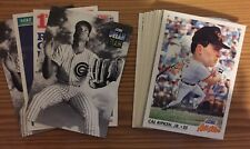 1992 Score Baseball - You Pick Any 25 Cards to Complete Your Set - Stars Rookies